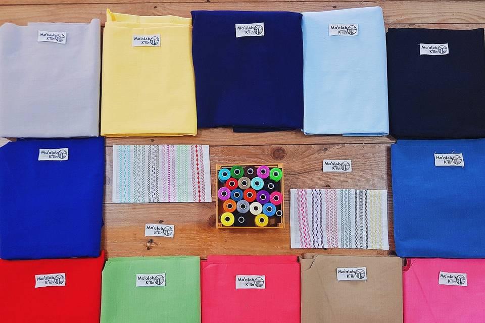 Variedad en colores
