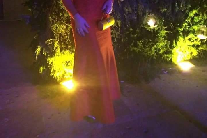 Vestido de noche mamá