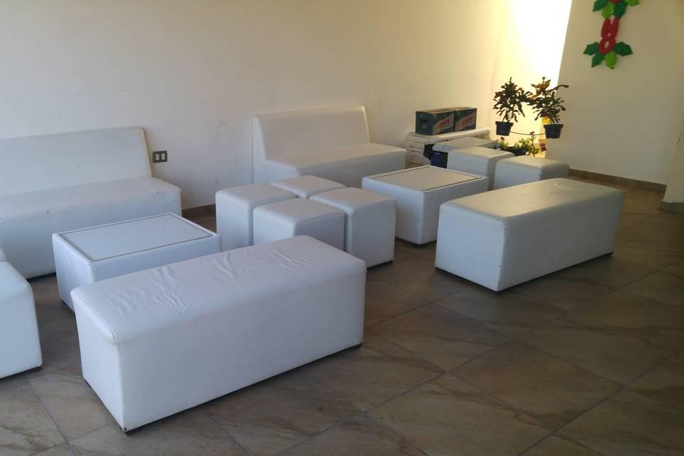Salas lounge para 10 personas