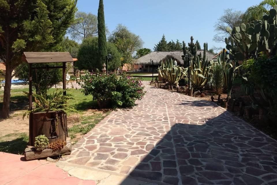 Jardín Los Mezquites