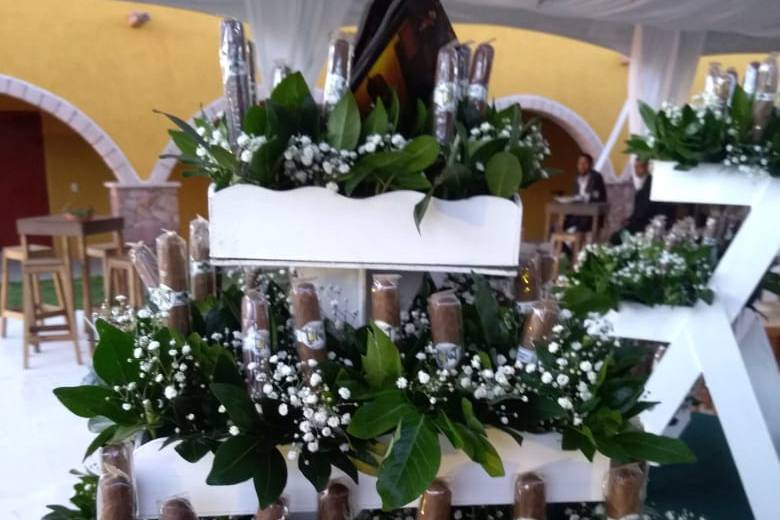 Cigar bar autoservicio floral