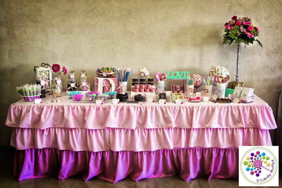 D Candy Buffet