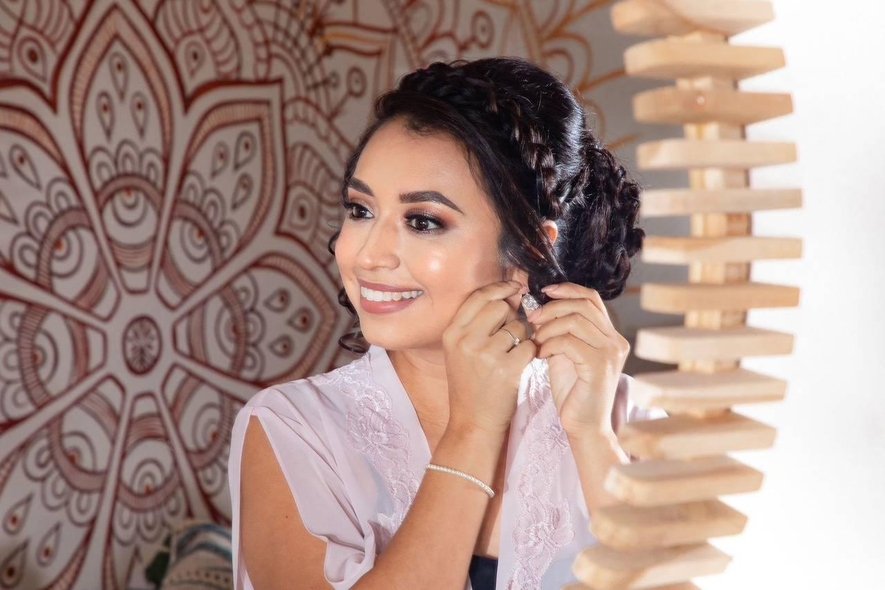 Raquel Rodriguez Maquillista