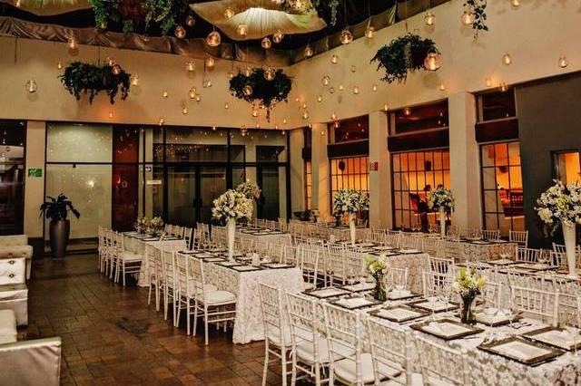 Hermosas bodas en terraza