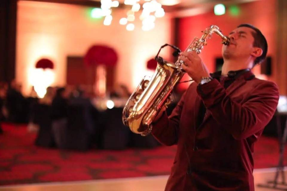 Harold Plaza Saxofonista