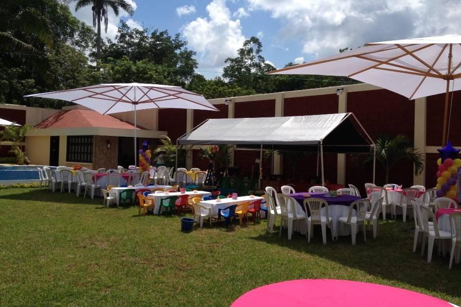 Jardín de Eventos Turquesa