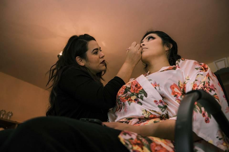 Makeup novias
