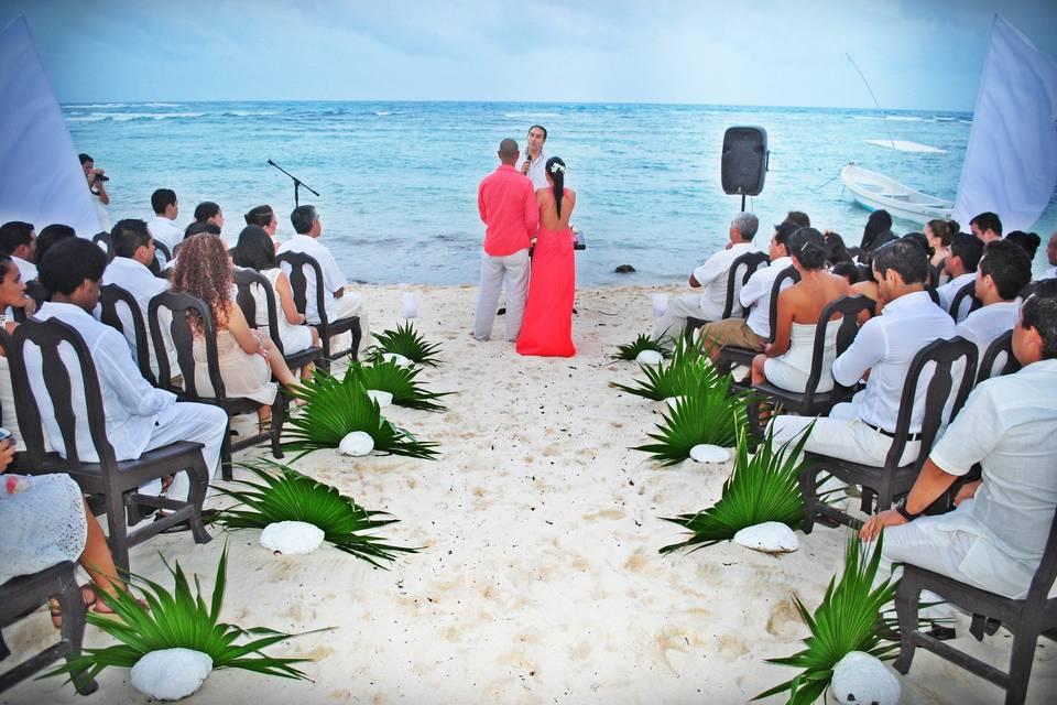 Transporte boda y ceremonia