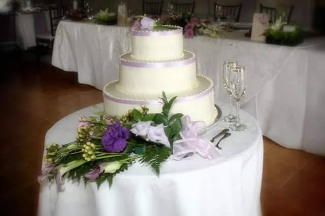 Decoración de pastel