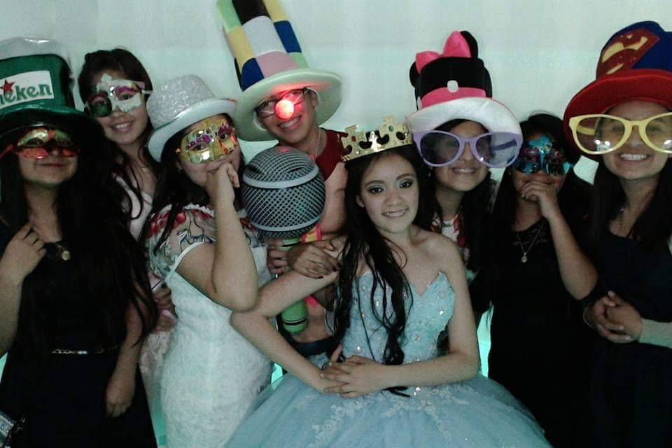 Zeva Party - Cabina fotográfica