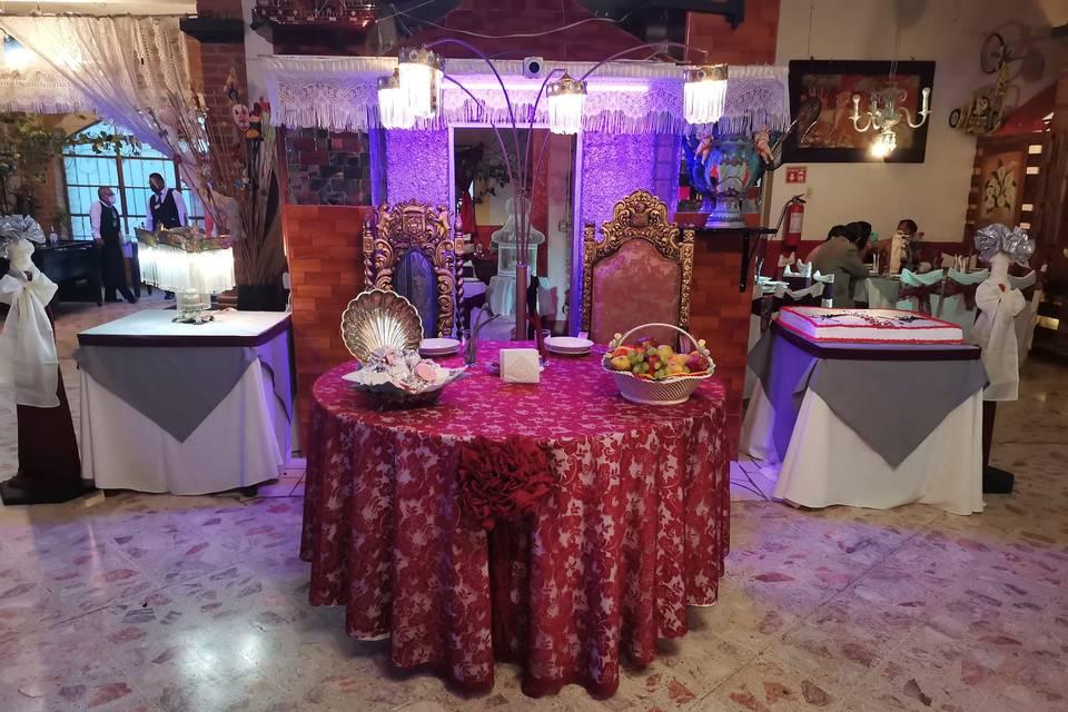 Salón Hacienda Chamell