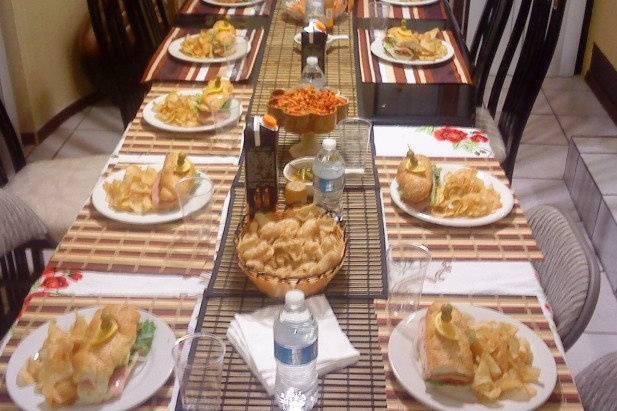 Banquetes y Meseros
