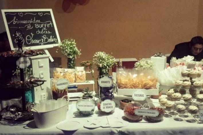 Caramel Buffet - Mesas de Dulces