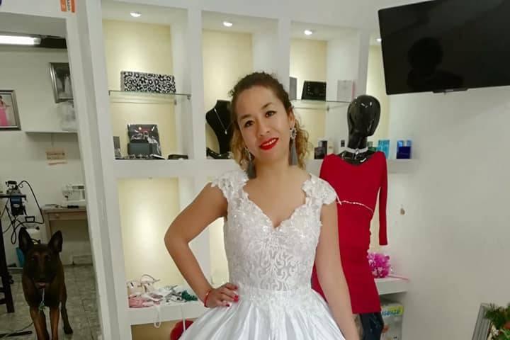 Tania Carreón Diseñadora de Modas