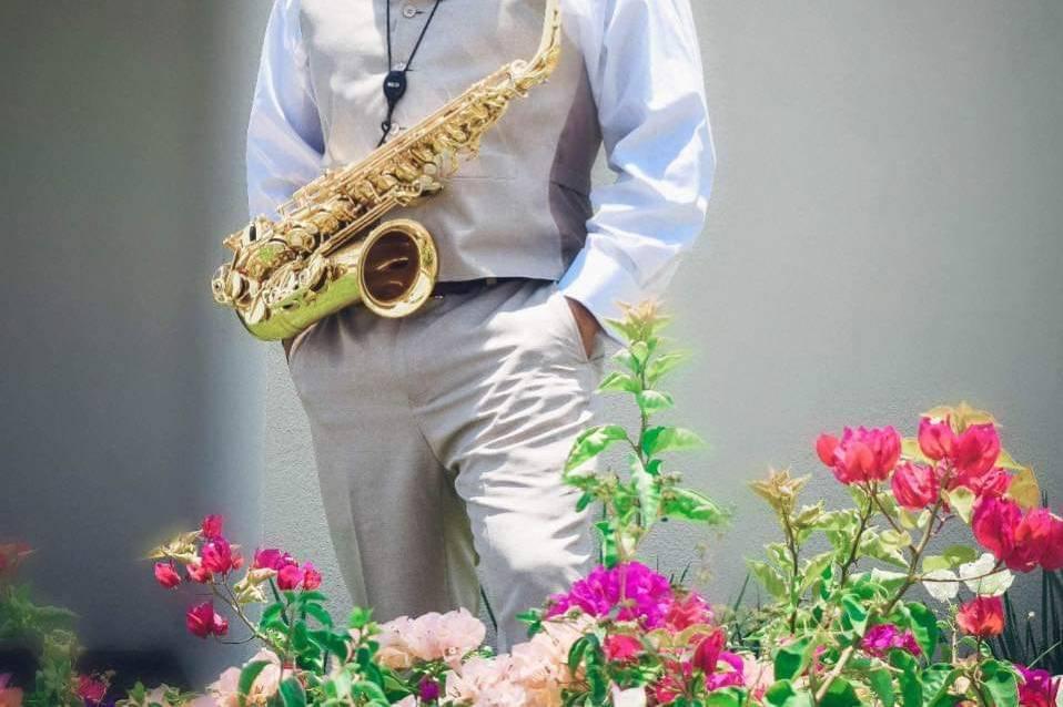 Saxofonista Yohshua Ochoa