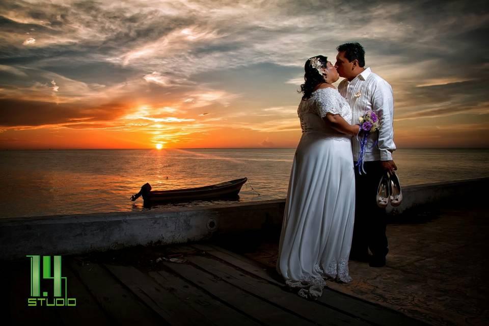 Amor a la orilla del mar