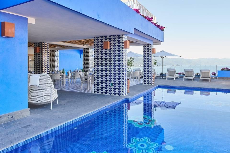 Hotelito Patio Azul